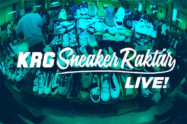 KRG Sneaker Rraktár Live @ Kicks R Good 2014