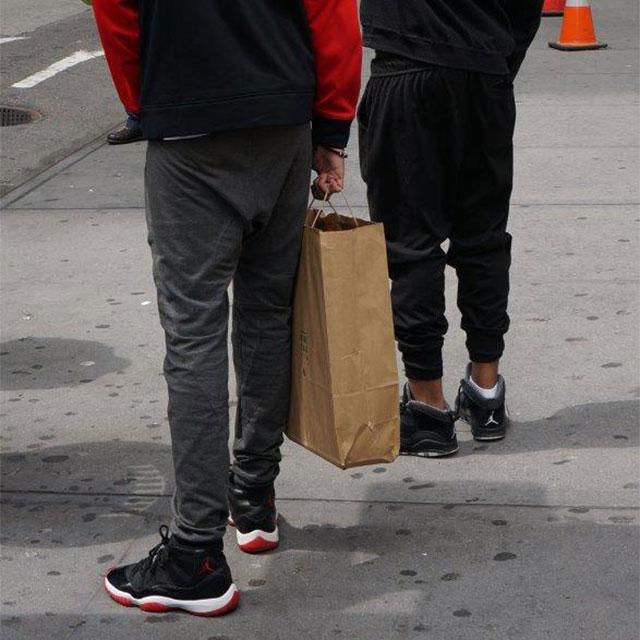 Sneaker Street Style @ NYC