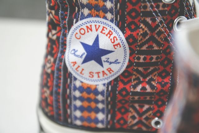 "Converse All Star Chuck Taylor 1970s ""Guitar Strap"""