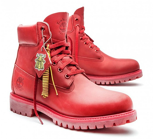 Billionaire Boys Club - Bee Line x Timberland Red Boot