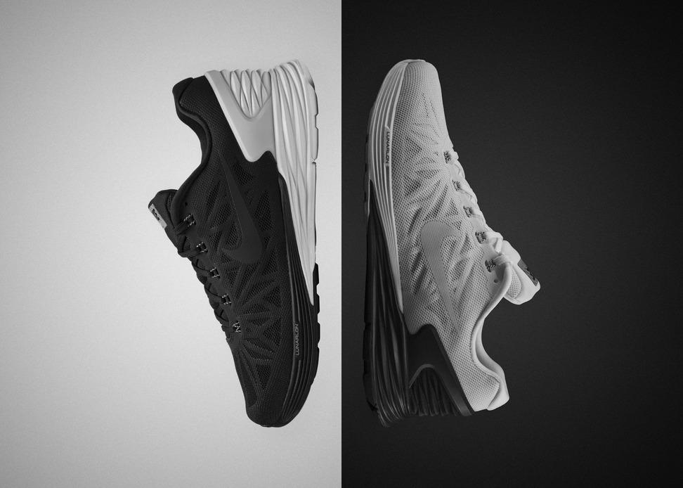 Nike LunarGlide+ 6 x NikeLab fekete-fehér kiadás. Ha esetleg lemaradnátok, a Nike iD-vel ennél ezerszer merészebb színkombókat állíthattok össze, természetesen rendelésre.