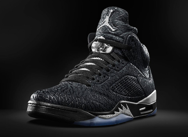 "Air Jordan ""3lab5"" (Black/Metallic Silver)"