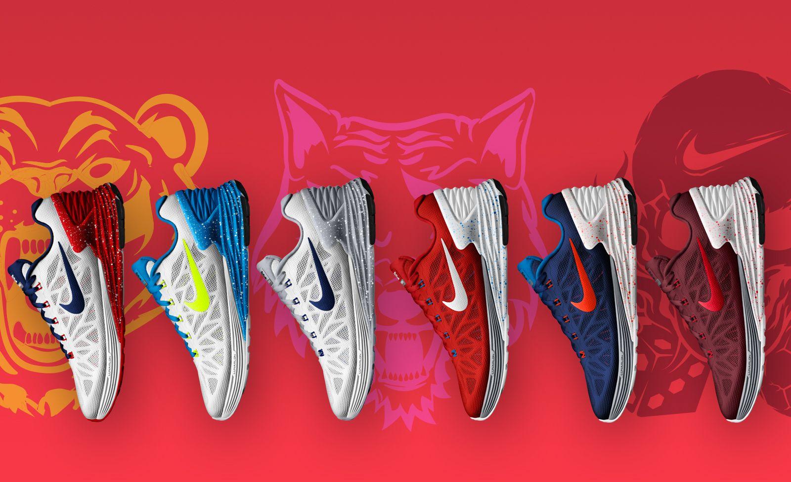 "Nike Lunarglide 6 ""Run For Your Country"" pack: USA, Brazília, Franciaország, Anglia, Hollandia és Portugália"