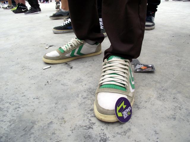 Sneaker Street Stlye @OSG15: Ákos, Hummel