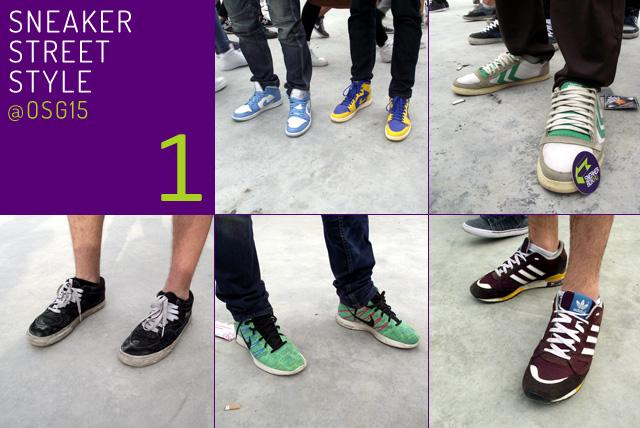 Sneaker Street Stlye @ OSG15: az első adag