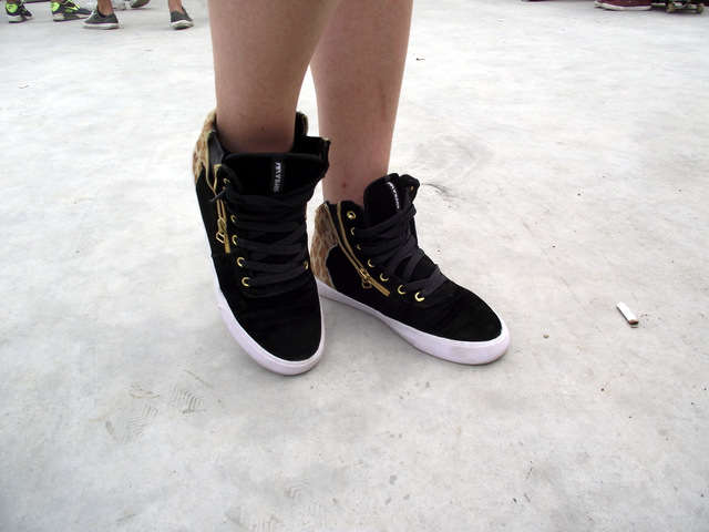 Sneaker Street Style @OSG15: Supra Cuttler