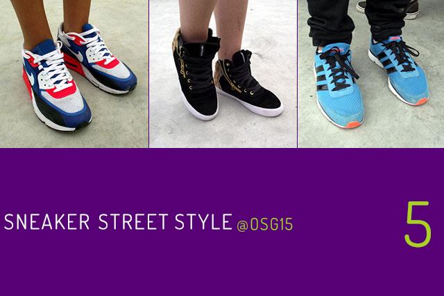 Sneaker Street Style @OSG15: az ötödik epizód