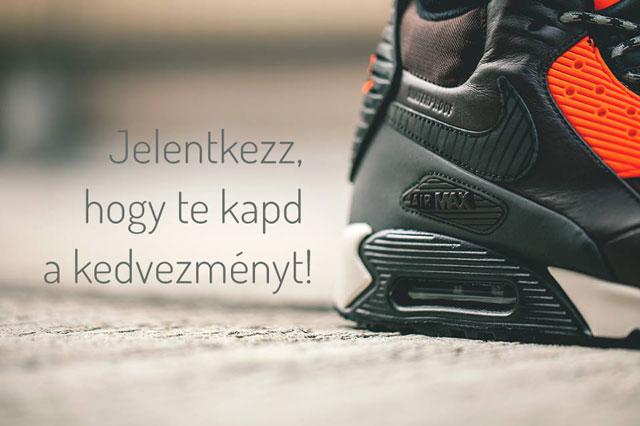 Jelentkezz és kapd meg te a 20 000 Ft  kedvezményt, akár egy pár Nike SneakerBootra!
