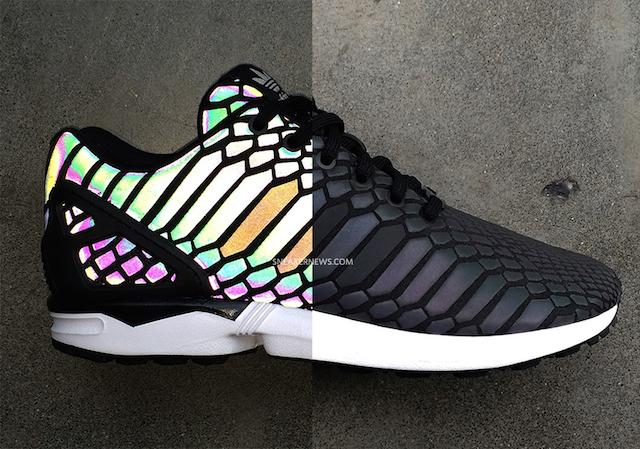 adidas-zx-flux-xenopeltidae-snake-reflective