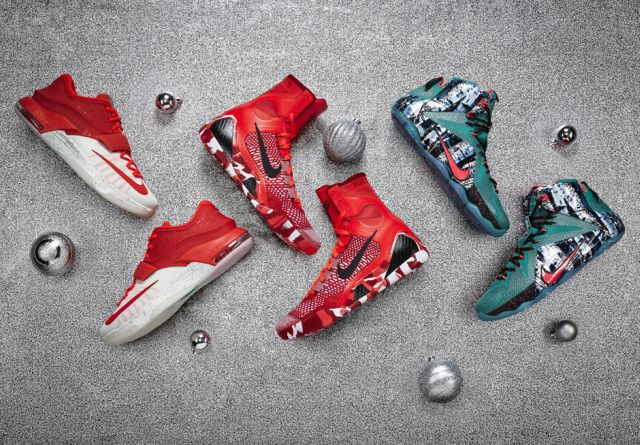 Nike Basketball Presents The 2014 Christmas Collection