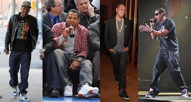 Sneaker rajongó sztárok: Jay-Z