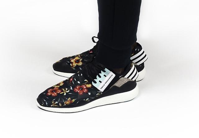 adidas Y-3 Retro Boost Yohji Yamamoto Hibiscus Graphic Floral Pack
