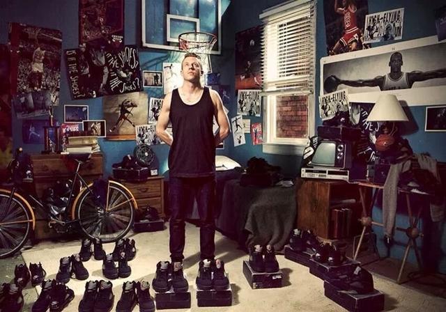 Sneaker rajongó sztárok - a srácok