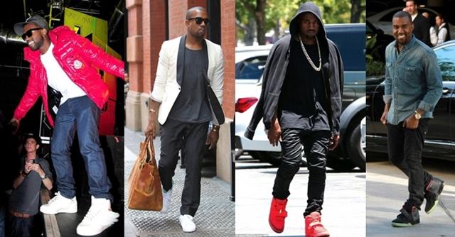 Sneaker rajongó sztárok: Kanye West