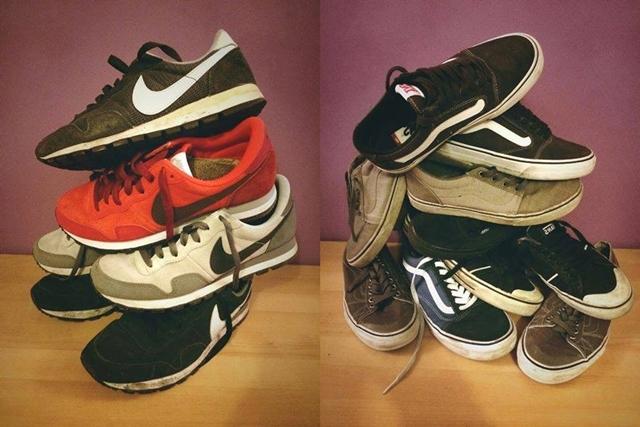 Kovács Krisztián kedvenc Nike és Vans modelljei.