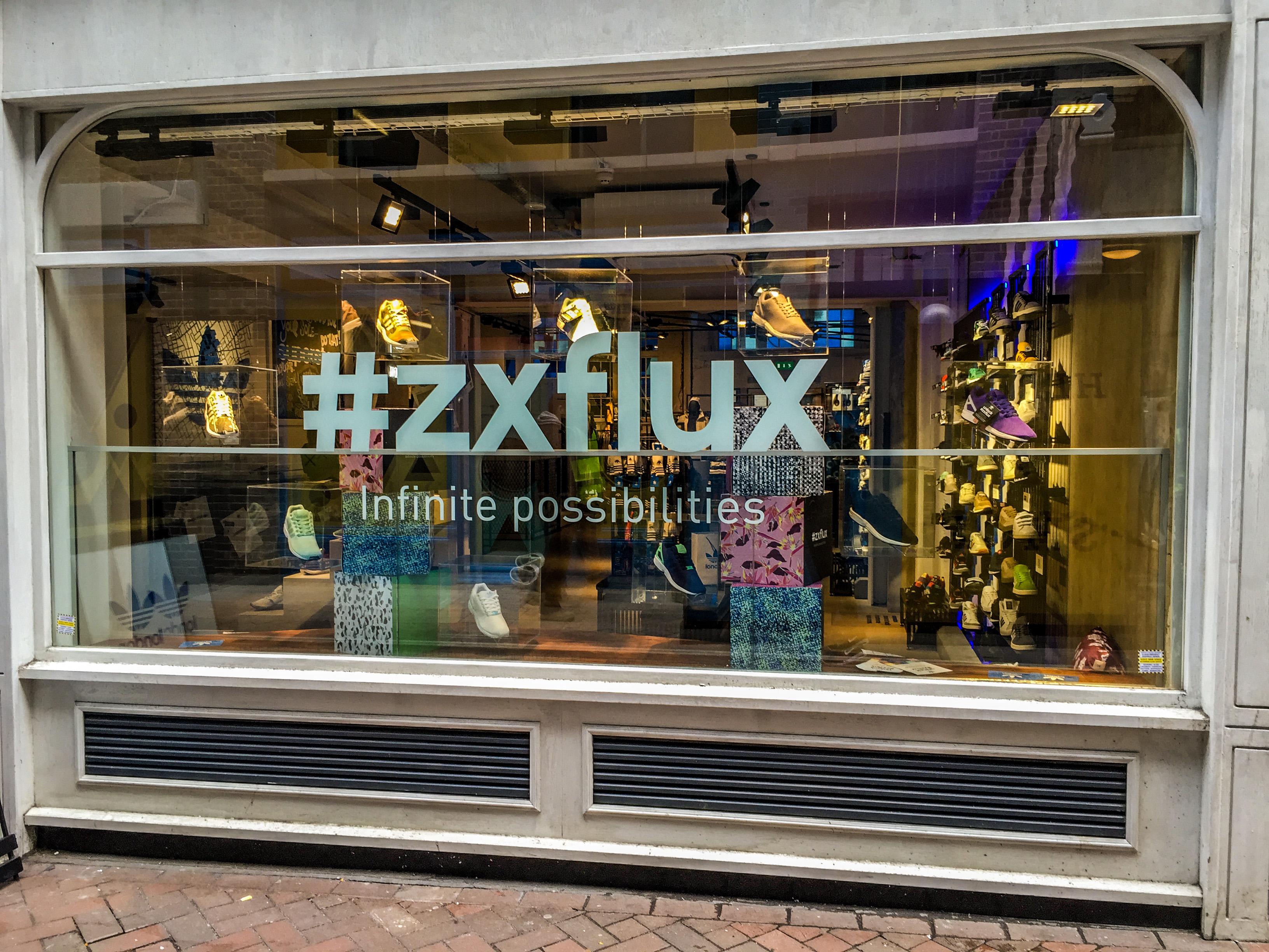 Az adidasnál a ZX Flux modellek a tavasz befutói
