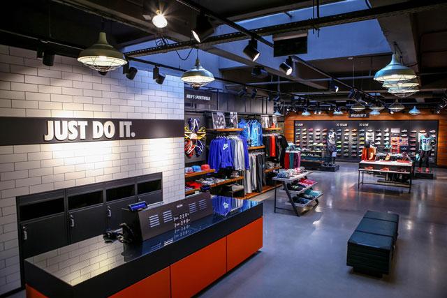 Budapest Nike Fashion Street Store (Fotó: Rácz Tamás)