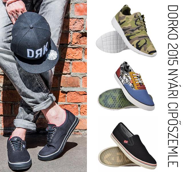 Dorko 2015 nyári cipőszemle srácoknak