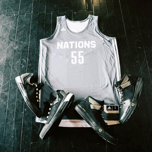 adidas Nations Camp: Crazylight 2015 Boost