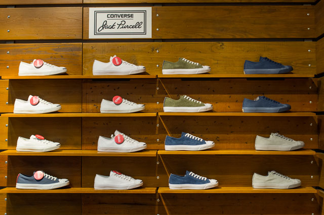 Jack Purcell cipők az Árkádban