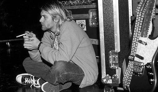 Kurt Cobain egyik alapdarabja volt a klasszikus Chuck Taylor.