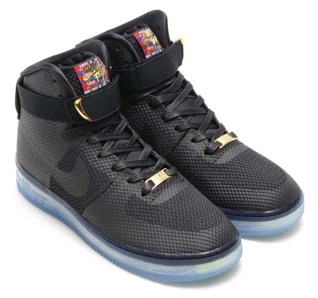 Nike Air Force 1 CMFT LUX (Black/Black-Metallic Gold 748280-001) - 47 990 Ft-ért kapható a Westendben