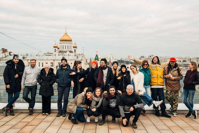 A moszkvai CoolTúra csapata