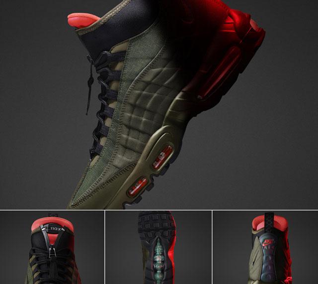 '15 téli Nike Sneakerboot kollekció: Air Max 95