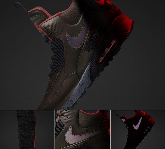 '15 téli Nike Sneakerboot kollekció: Air Max 90