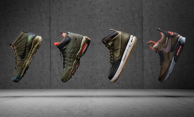 A 2015 téli Nike Sneakerboot cipők első adagja