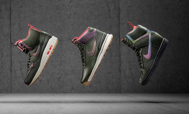 A 2015-ös téli Nike Sneakerboots modellek a hölgyeknek