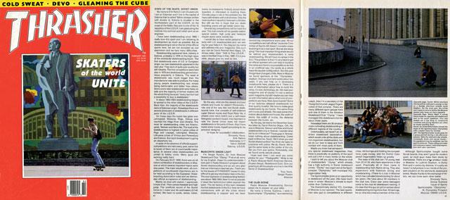 Trasher Magazin (1989 február)
