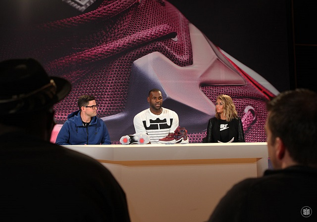 Lebron 13 launch