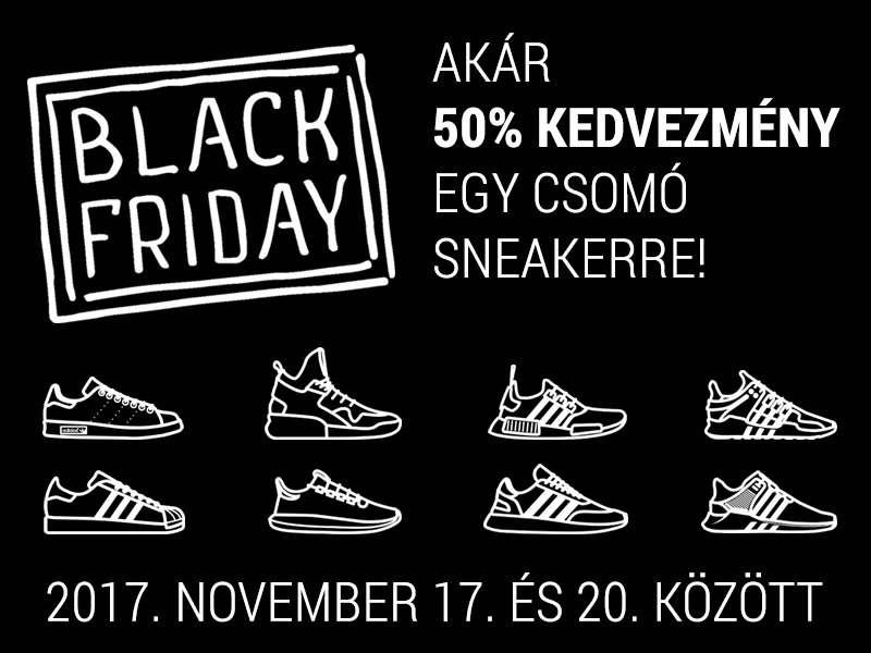 Black Friday @ sneakerbox.hu shop (2017.11.17.20)