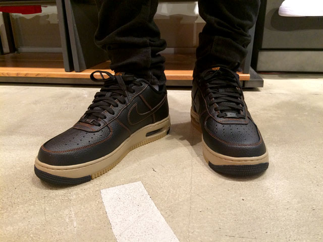 Nike Air Force One Low Elite (Black/Tawny 725146-002) 39 990 Ft