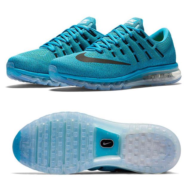 Nike Air Max 2016 (Blue Lagoon/Brave Blue/Volt/Black 806771-400)