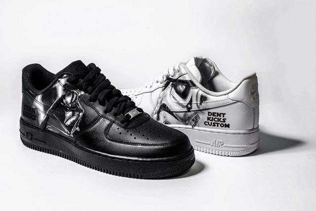 Dent Kics Custom Star Wars Air Force 1 cipők