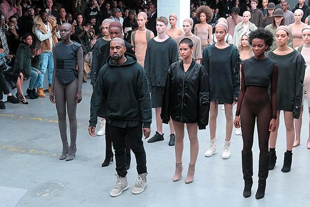 Kanye West első adidas kollekciója a Nw York-i divathéten debütált