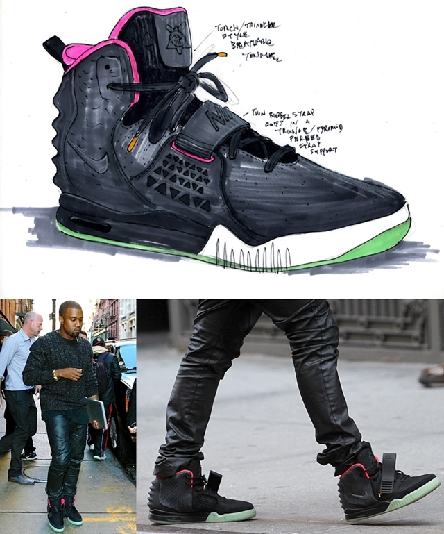 Kanye és a Nike