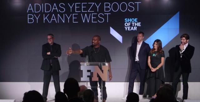 A Yeezy Boost nyerte az év cipője díjat