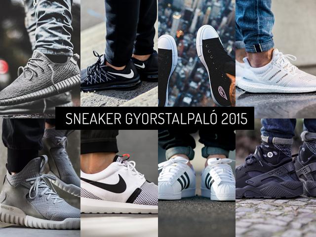 Összefoglaló a 2015-ös év sneakereiről