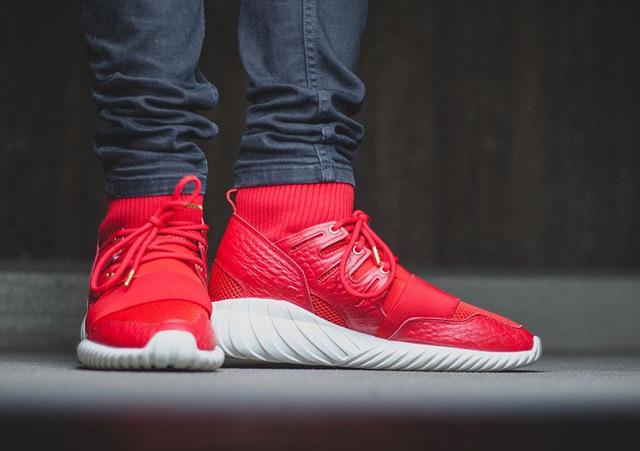 adidas Tubular Doom vörösben a Tűz Majom évének tiszteletére