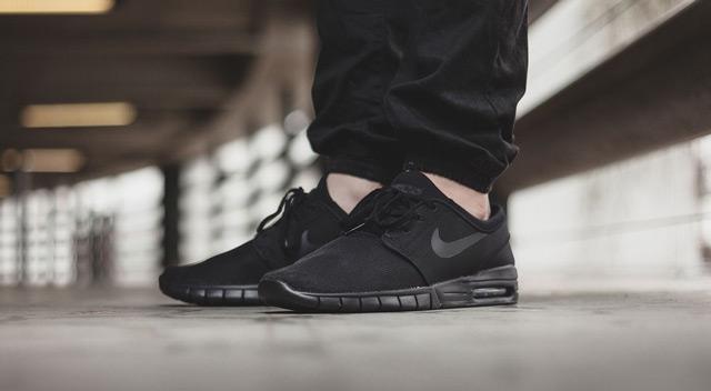 Nike Stefan Janoski Max (Black/Black Anthracite Black)