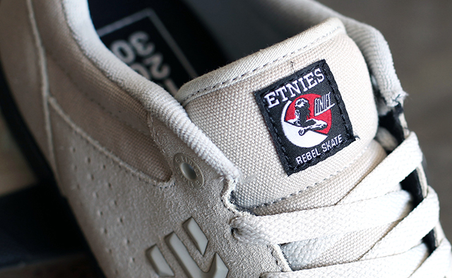 Rebel Skate ikon a nyelven és a dobozon