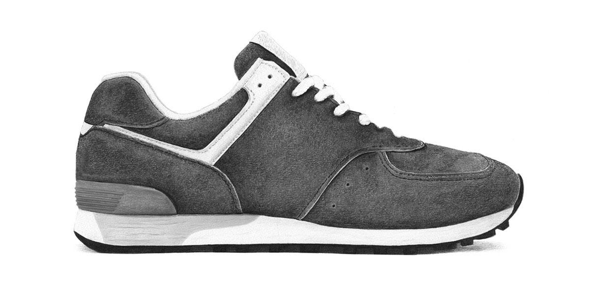 Márkátlanított cipők: New Balance 576 (Steph Morris/Highsnobiety)