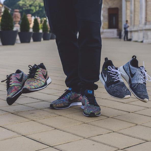 """Dent Kicks Custom """"Racer & Roshe """"Racer"""" Custom"""" cipők (Fotó: Farkas Christian)"""