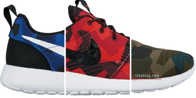 Cipőgeometria emelt szinten  Nike Roshe One Geo Camo - sneakerbox.hu ... 29b8406294