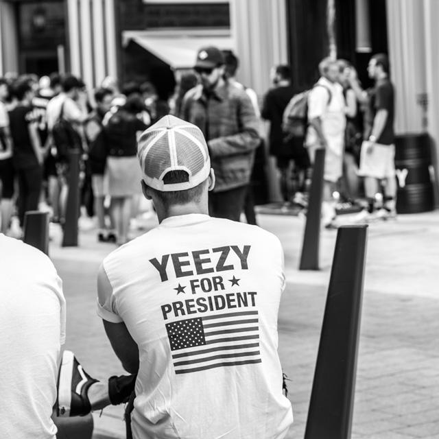 adidas Yeezy Boost 750 @ Budapest