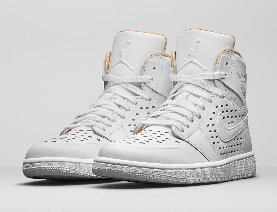 "Air Jordan I Retro High ""Engineered perf"" (White/Vachetta Tan/White)"