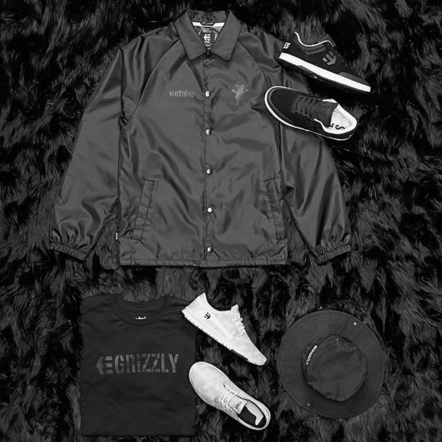 Etnies x Grizzly deszkás collab kollekció